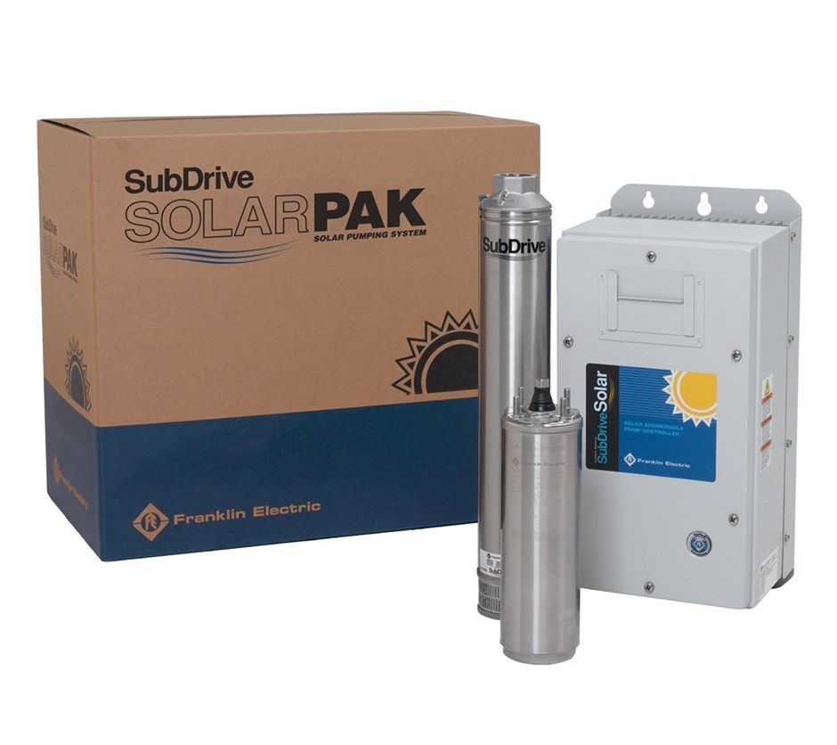 Subdrive Solarpak 0 75 3hp Solar Products Packaged