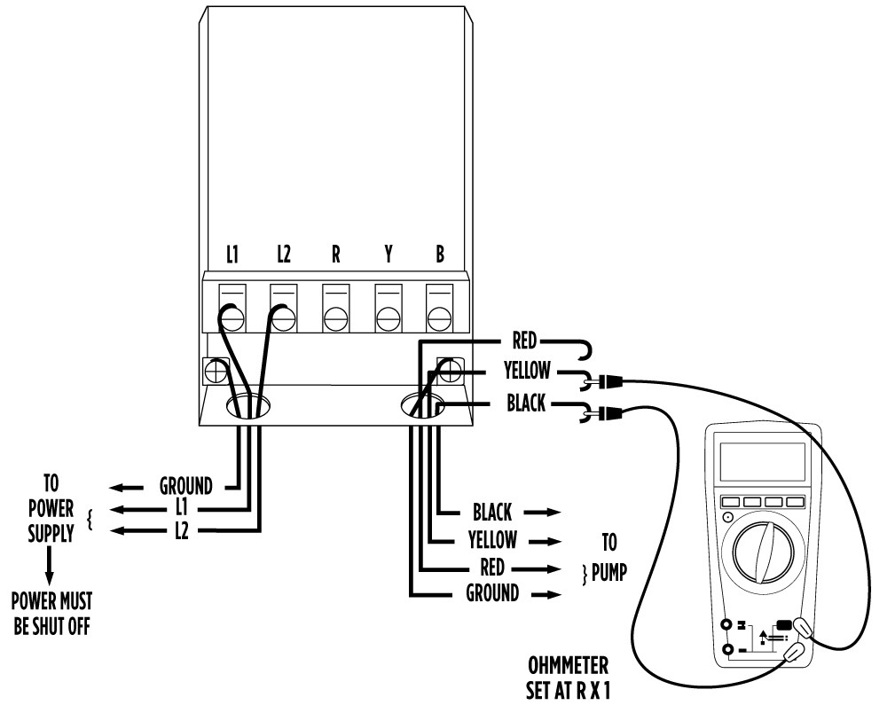 Franklin Electric Well Pump Control Box Wiring Diagram