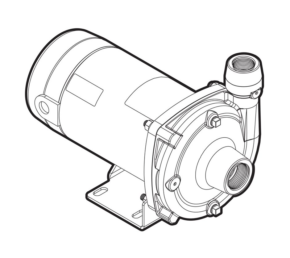 fce f series close coupled centrifugal ag industrial Powered by Water Pressure Sump Pumps fce