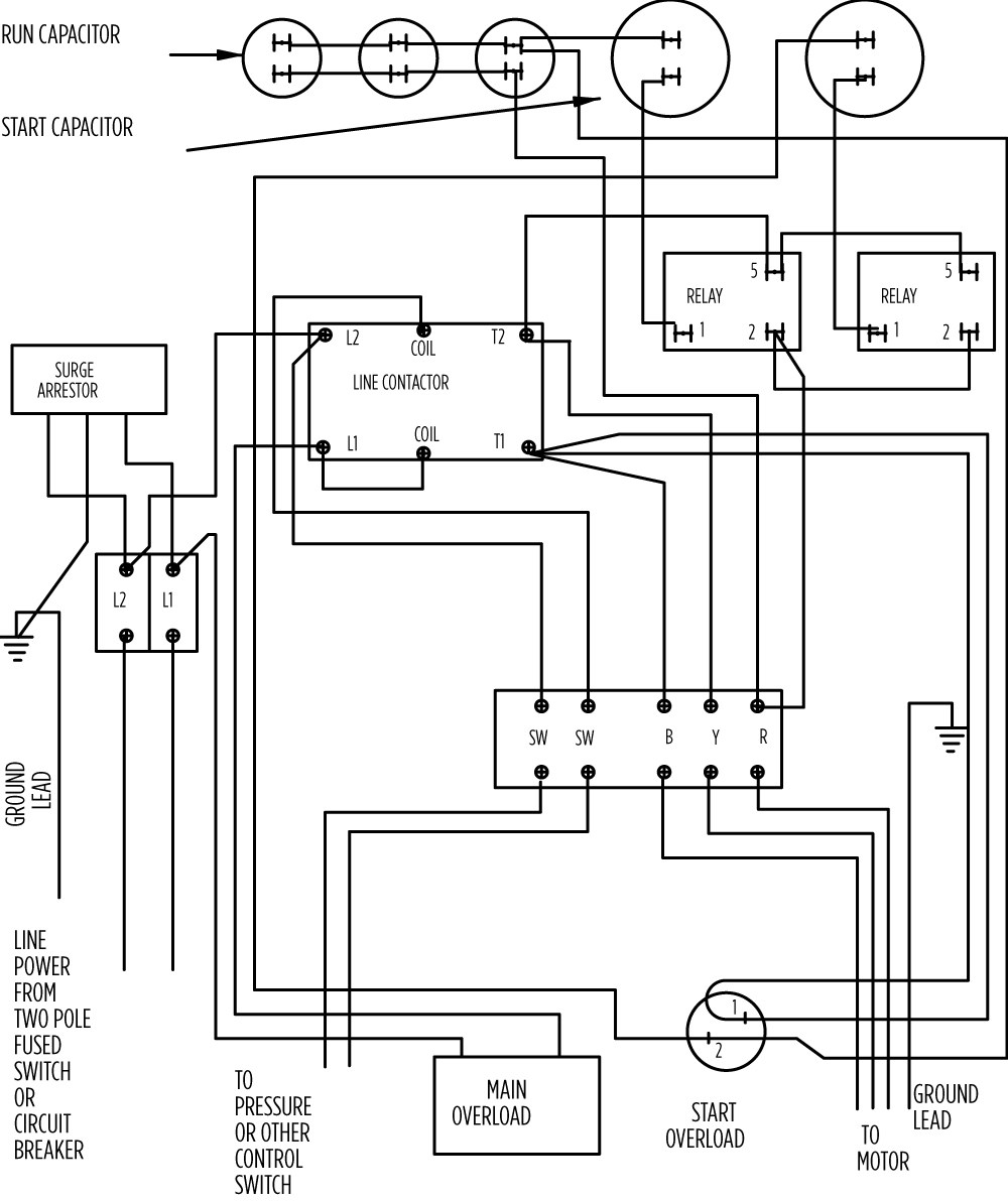15 hp x large 282 203 9621_aim gallery?format=jpg&quality=80 aim manual page 57 single phase motors and controls motor franklin electric submersible motor control wiring diagram at edmiracle.co